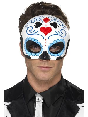 Day of the Dead Blue Eyemask 44648