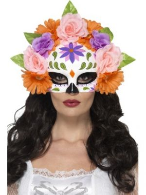 Day of the Dead Floral Eyemask 44884