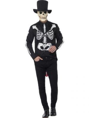 Day of the Dead Senor Skeleton Costume  44656
