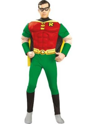Robin Muscle Chest Costume Licensed 888078