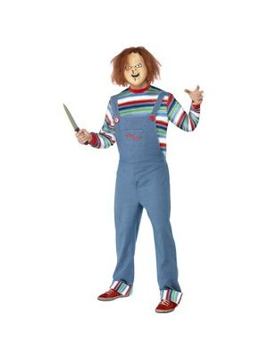 Chucky Mens Costume Licensed 39965