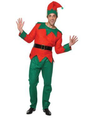 Elf Santa Helper Deluxe Costume XM-4525