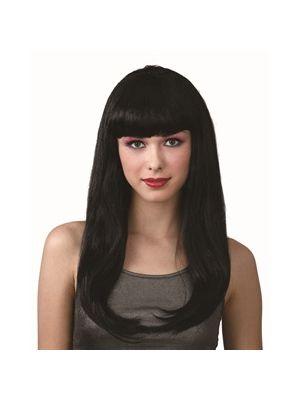 Fantasy Black Wig EW-8212