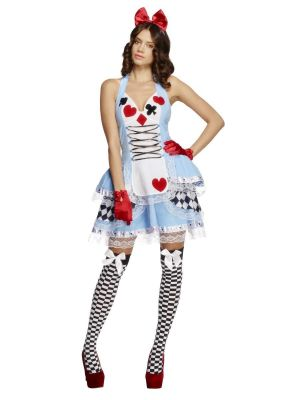 Fever Miss Wonderland Costume 21009 Smiffys