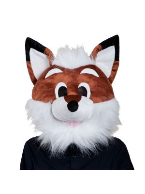 Animal Plush Fox Head 1280