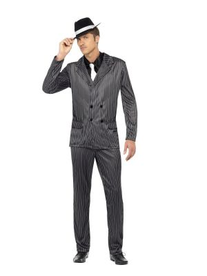 Gangster Costume Mens 23687 Smiffys