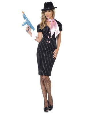 Gangster's Moll Costume Female 23697 Smiffys