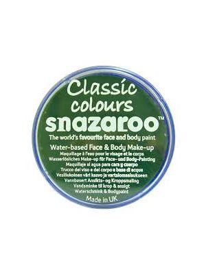 Grass Green Snazaroo 18ml Face Paint 1118477