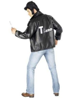 T Bird Grease Official Jacket Licenced Smiffys Fancy Dress