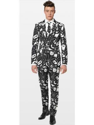 OppoSuits Halloween Black Icons Suitmeister Suit 0014