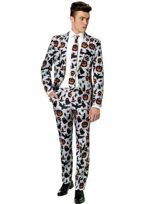 OppoSuits Halloween Grey Icons Suitmeister Suit 0013