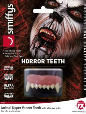 Horror Teeth Animal 45185