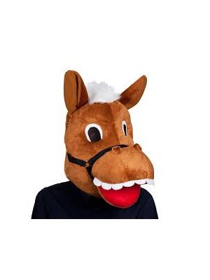 Animal Plush Horse Head Wicked 1283