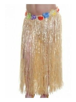 Hula Skirt 60cm Natural Design 9436