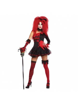Adults Jesterina Clown Costume 996207