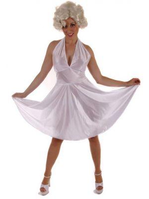 Lady In White Costume U37 150