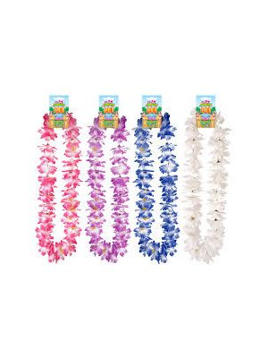 Lei Hula 110cm Assorted Colours Fancy Dress Hawaiian