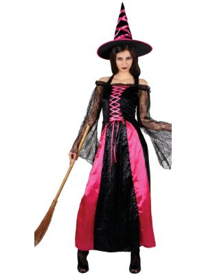 Pretty Pink Witch Costume Wicked