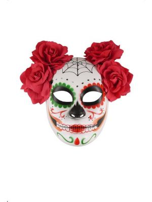 Mask Day of the Dead Deluxe Adult V36 685