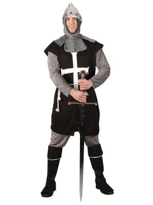 Black Knight Medieval Costume EM-3163