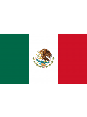 Mexico 5ft x 3ft Football Rugby Supporter World Cup Flag