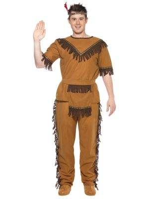 Native American Inspired Brave Costume Smiffys 20457
