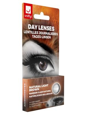 Natural Light Brown Contact lenses 1 Day