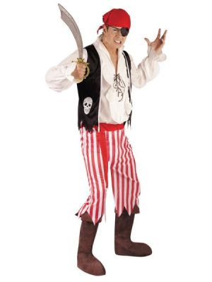 Pirate Man Costume 3434B