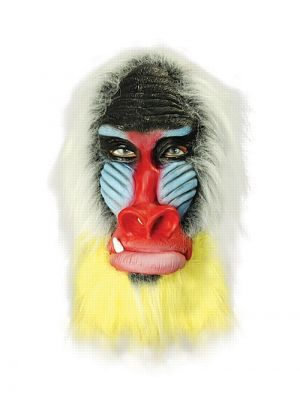 Baboon Rubber Full Head Mask BN Range