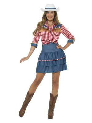 Rodeo Doll Costume 24648 Smiffys