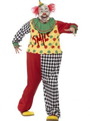 Sinister Clown Costume  45200