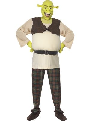 Smiffys Shrek Costume Male Costume Licensed 38357
