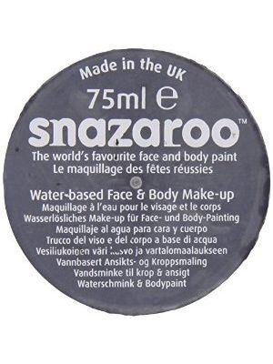 Black Snazaroo 75ML Face Paint Big Tub Professional Quality