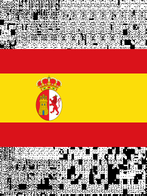 Spain 5ft x 3ft Football Rugby World Cup Supporter Flag