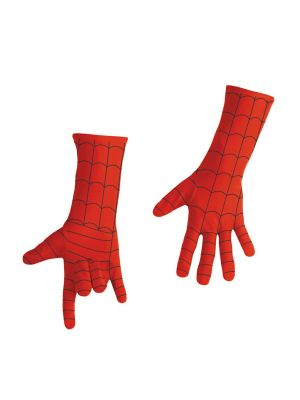 Spiderman Gloves Licensed Fancy Dress 35531