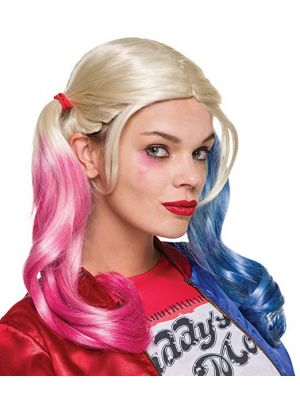 Harley Quinn Licensed Official Movie Wig - Adult Wig