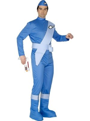Thunderbirds Scott Costume Official LIcensed 29948