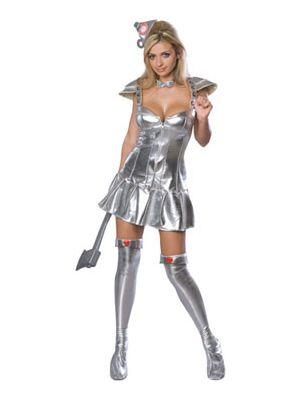 Tin Woman Costume 888293