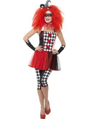Twisted Harlequin Costume  44733