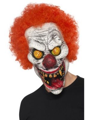 Twisted Clown Latex Mask 44745
