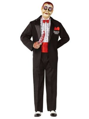 Adult Ventriloquist Demented Dummy Costume 3329B