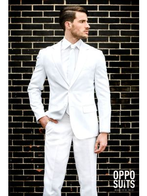 OppoSuits White Knight Fancy Dress Suit 0049