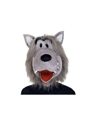 Animal Plush Wolf Head Wicked Fancy Dress 1284