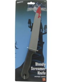 Blood Stained Screamer Knife 9360