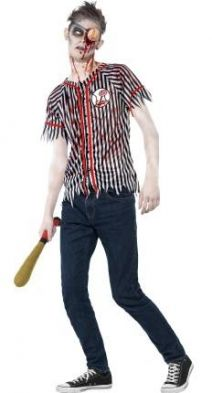 Zombie Baseball Player Costume  44334
