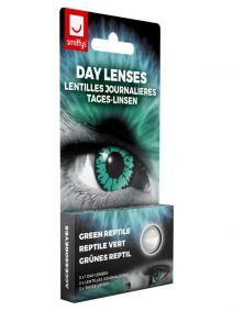 Green Reptile Contact Lenses 1 Day