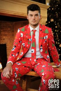 OppoSuits Christmaster Fancy Dress Suit