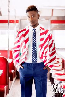 OppoSuits United Stripes Fancy Dress Suit 0059