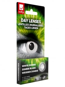 White Zombie Contact Lenses 1 Day