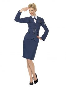 WW2 Air Force Female Captain Smiffys 35527
